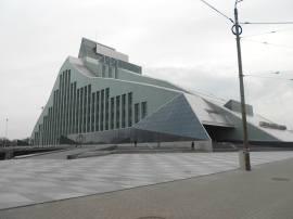 Національна бібліотека Латвії (нове приміщення)