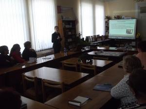 Розповідь очевидця про роботу бібліотек Латвії