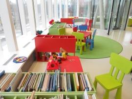 Бібліотека Парвенті. Дитячий відділ